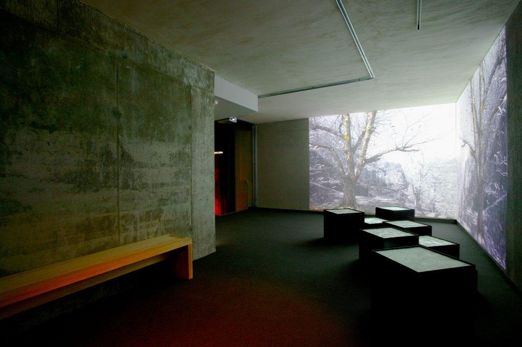 Instalación videoartística Centro Interpretación de la Mística. Ávila.