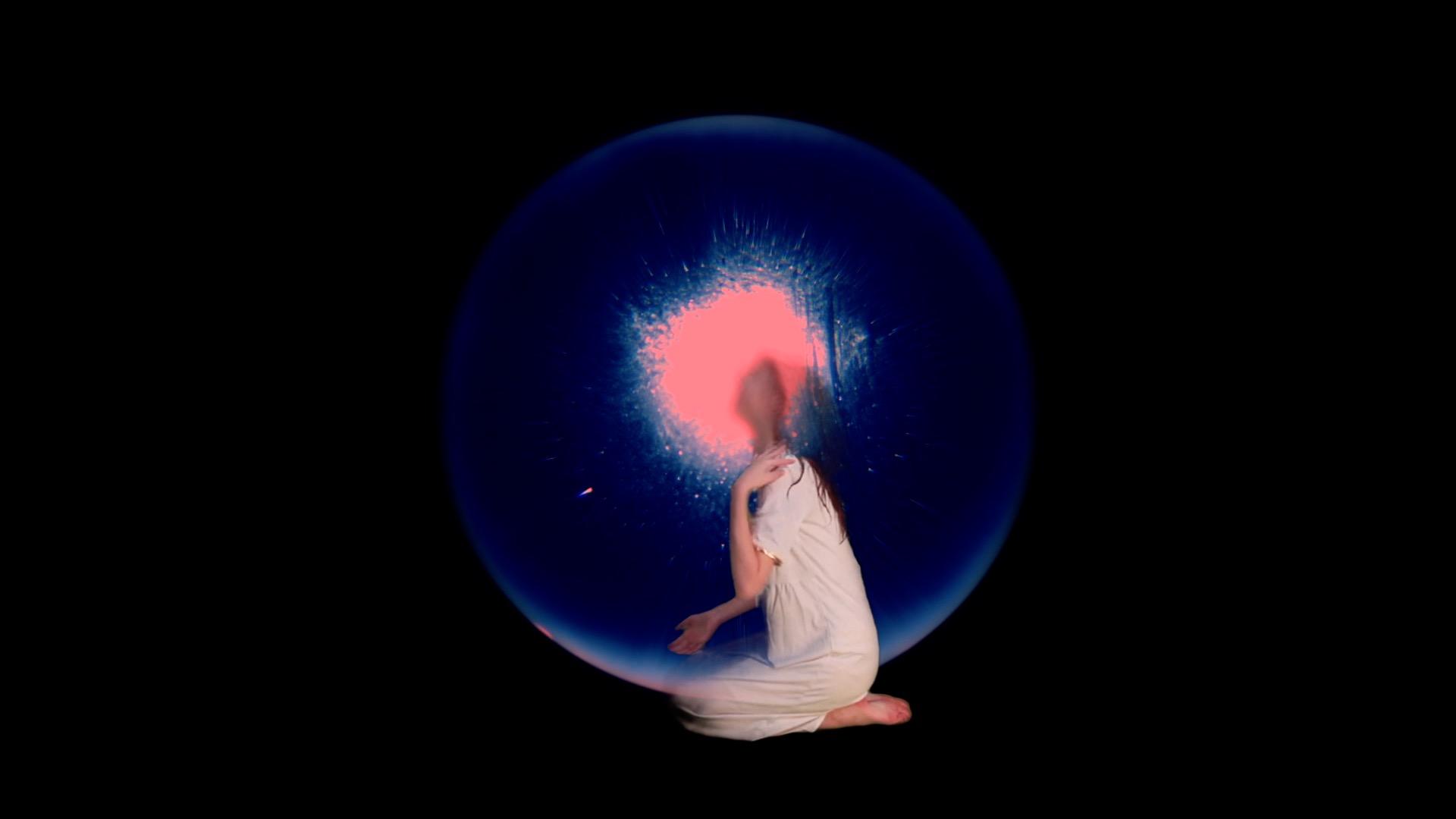Fotograma del audiovisual experimental Anxiety 0.60